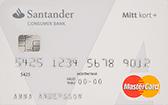 Santander Mitt Kort Plus