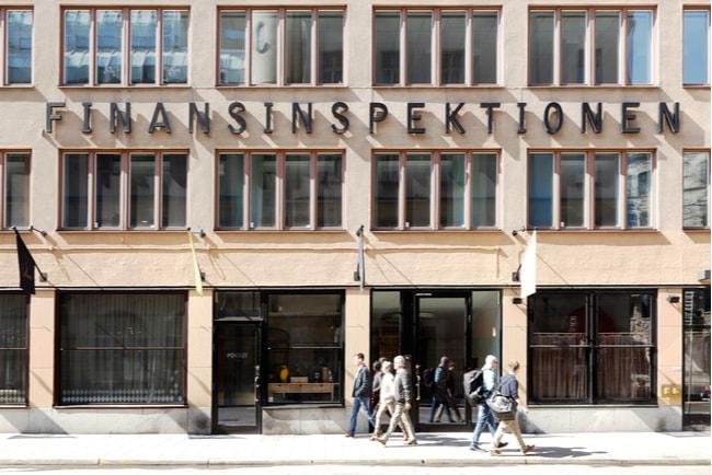 finansinspektionens kontorsbyggnad i Stockholm