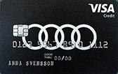 Audikort Visa
