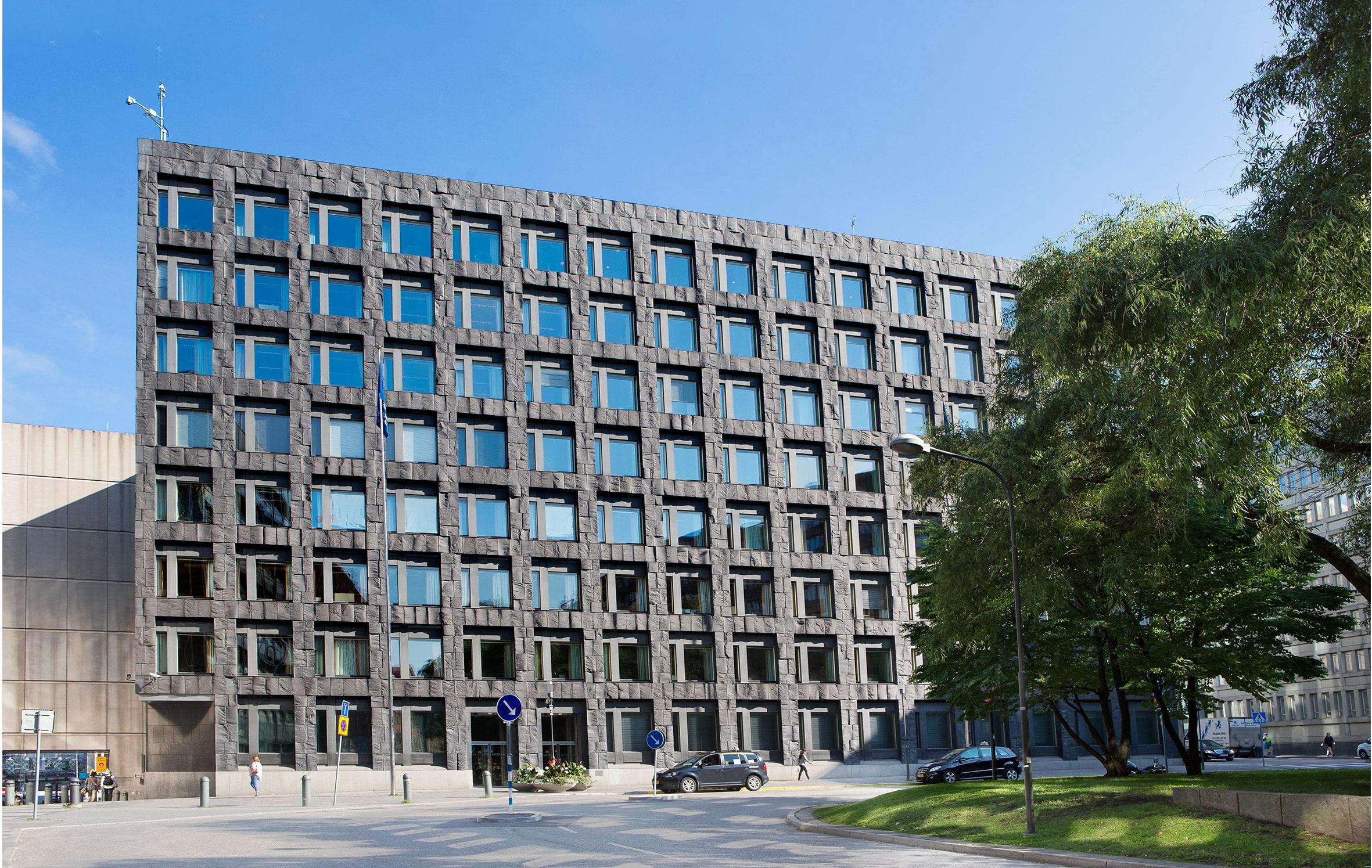 riksbankhusets utsida